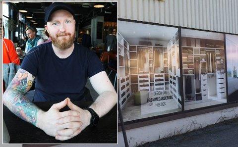 Kevin Kildal kjøpte opp konkursboet til Garderobemannen i Bodø.