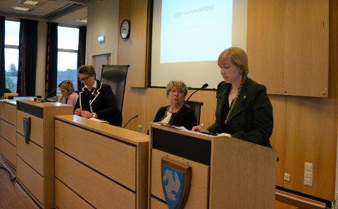 INTERPELLASJON: Marte Arnesen med interpellasjon på kommunestyremøtet 12. juni.