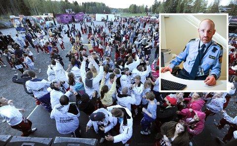SMITTE: Leder for forebyggende avsnitt i Follo, Erlend Mysen, håper at russen kan ta helsemyndighetenes anbefalinger på alvor. Bildet er fra russefeiringen i 2011.