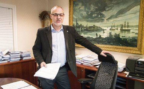 Fra neste uke er ordfører Rune Høiseth å finne i adminstrasjonsbygget i Feyersgate.  (Arkivfoto)
