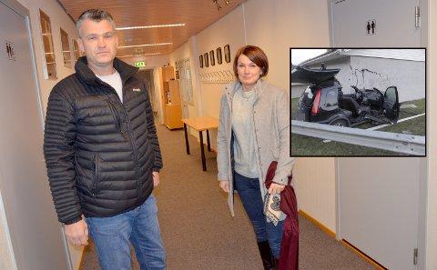 Får bygge: Gunhild og Bjørn Einar Solberg får nå bygge tomannsbolig sammen med sin pleietrengende datter.
