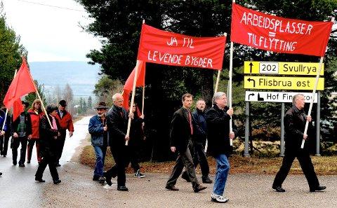 29114dba EGET ARRANGEMENT: Radikale Sosialister hadde flere egne 1.mai-arrangement  på Åsnes Finnskog