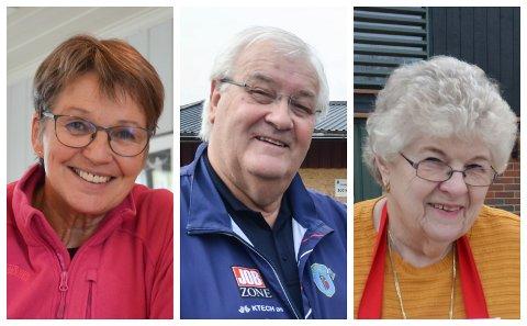 KANDIDATER: Frøydis Vangen Kjøs, Klas Erik LIndstad og Anne Berit Nordnes Ommundsen er blant kandidatene til å vinne årets ildsjelpris i Løten.