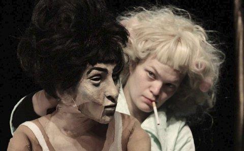 Figurteater: Plexus Polaire, ved norske Yngvild Aspeli, kommer til kulturhuset med en forestilling basert på Sara Stridsbergs prisbelønte roman. Foto: B Schupp- E Holager Lund- C Leroux
