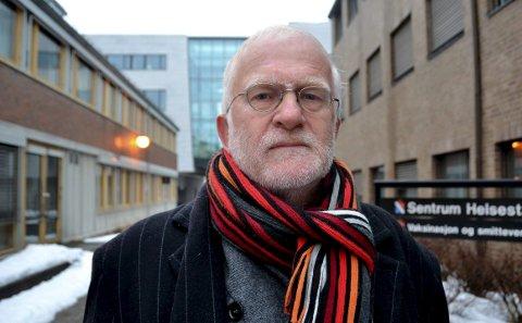 Kommuneoverlegen i Porsgrunn, Bjørnar Nyen, har engasjert seg i togtutingen i Bjørkedal. – God søvn er viktig for den psykiske helsa til folk. Derfor har jeg engasjert meg.