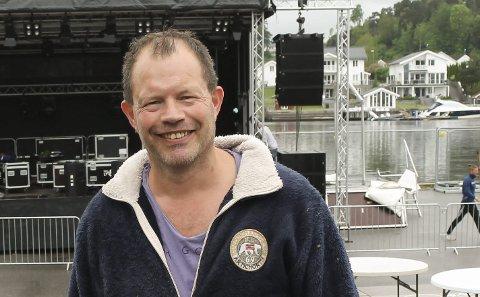 ARRANGØR: Hans Arne Frøland fortsetter med festivalsatsingen.
