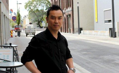 Suksess: Johnny Nguyen gjør det bra i Storgata.