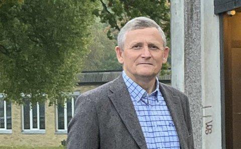 KAN TA TID: Eiendomssjef Ole Henrik Lia