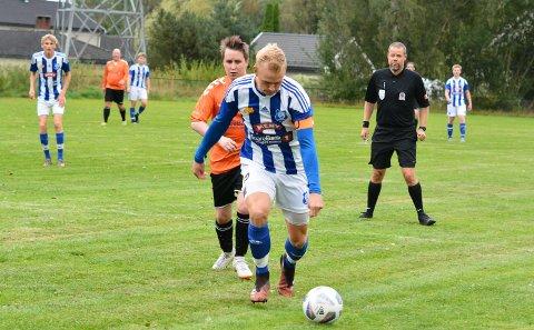 EIDANGER BITER SEG FAST: Haakon Aaltvedt Pettersen.