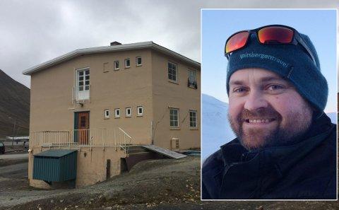 Arne Bergdal solgte i 2013. Bildet av bygningen er tatt etter bygningen ble stengt av. I fjor sommer.