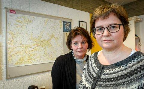 Trude Fridtjofsen (t.h.), avdelingsleder for Areal og miljø i Rana kommune og juridisk rådgiver Karen Agnete Hagland slår fast at personlige meninger ikke har noe i forvaltningen å gjøre.