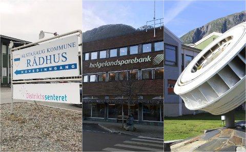 Kreditorer: Alstahaug kommune, Helgeland Sparebank og Helgeland Kraft representerer bare tre av de 48 kravene som har kommet etter at byggmesterfirmaet gikk konkurs.