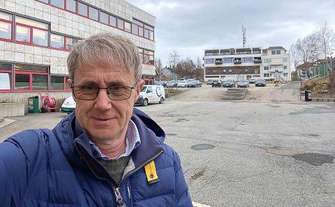 Bjørn Amundsen, dekningdirektør i Telenor, har oppgradert 20 stasjoner i hele Rana kommune.