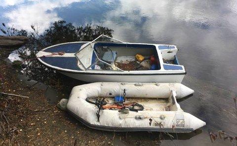 BÅTER SAVNER EIERE: Ringerike kommune ber om at eierne av disse båtene melder seg.