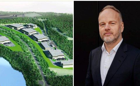 TIL RINGERIKE: Administrerende direktør i DigiPlex, Wiljar Nesse.
