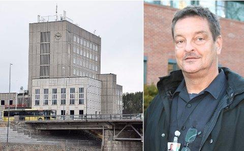 2019: Branninspektør Atle Thorsen og Ringerike brann- og redningstjeneste mente at avvik, som ble avdekket i 2019, burde vært lukket før rådhuset ble oppgradert.