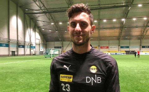 KLAR IGJEN: Daniel Pedersen er spilleklar igjen og starter i treningskampen mot Helsingborg.                 BEGGE FOTO: MORTEN SVESENGEN