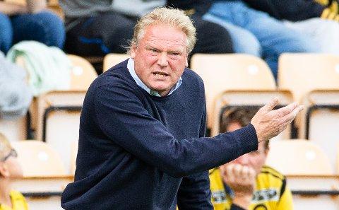 – SKAL GRUE SEG: LSKs trener Jörgen Lennartsson vil at motstanderne skal frykte å komme til Åråsen.