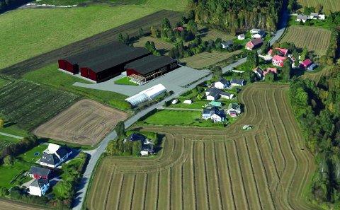 NYBYGG: 5.500 kvadratmeter ny bygningsmasse er planene til Fine Design, som vil flytte fra Fornebu til Sandefjord. (Illustrasjon: Spir Arkitekter)