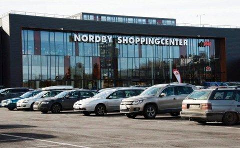"""Det ble omsatt for 56 millioner kroner på Nordby Shoppingcenter under sist helgs """"Black Weekend"""", og gjennom hele uka var omsetningen på nesten 93 millioner kroner."""