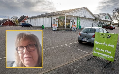 HENRYKT: Marit Solberg får ikke rost de ansatte ved Kiwi på Borgenhaugen nok.