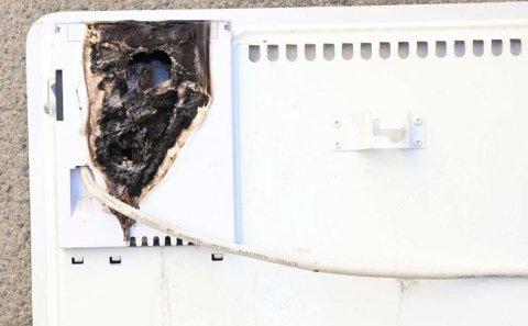 Politiet advarer etter at et branntilløp startet i en panelovn med glassfront. Panelovnen er produsert av Biltema og er tidligere tilbakekalt på grunn av at ovnen kan ha alvorlige feil.
