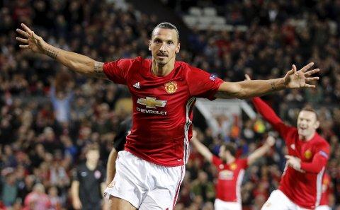 Manchester United og Zlatan Ibrahimovic er i siget.