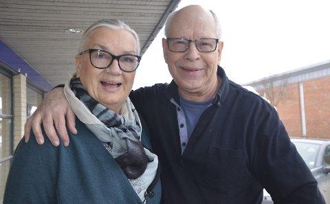 Ny fase: Ekteparet Rigmor og Jan Jacobsen har stengt butikkdørene og en ny epoke i livet har startet. Deres lidenskap for interiør vil de ikke helt slippe,               men det skal bli mer tid til barn og barnebarn.