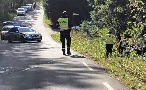 Politiet mener uoppmerksomhet fra den ene sjåføren er årsak til trafikkuhellet.