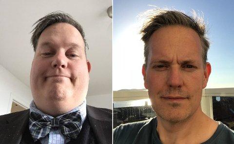 Nytt liv: Det er tre år mellom disse to bildene. Det til høyre er fra sommeren 2018, et halvt år etter operasjonen. I dag trener Morten Rød (45) fire ganger i uken. Han føler seg sikker på at han ikke vil gå opp i vekt igjen.
