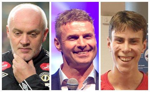 TRIO: Harald Aabrekk, Jostein Flo og August Da Silva Sveen er alle på statestikken over krinsrekordar.