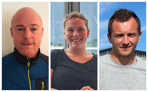 NYE SELSKAP: Asle Hillestad, Maya Asheim Breidablik og Even Hovland er alle med i nye selskap som den siste tida har blitt registrerte i Sogn.