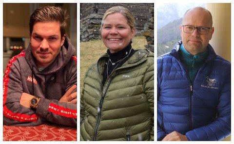 TEK SATS: Jonas Nyløy Navarsete, Jannet Aksnes og Ole-Henrik Nitter Walaker har alle vore med på å etablera nye firma den siste tida.
