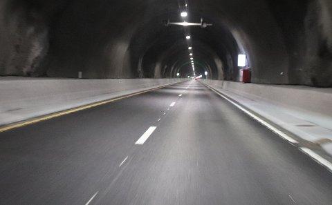 VILLE UT: Et ønske om å komme seg raskt ut igjen av tunnelen skal ha vært bakgrunnen for ryggingen søndag kveld. Arkivfoto