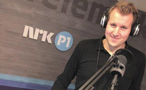 TAPTE: Klubbleder Even Skårberg Aarnes i NRK og de andre ansatte i Telemark og Vestfold tapte kampen, det blir en felles radiosending for Telemark og Vestfold på ettermiddagen fra nyttår.