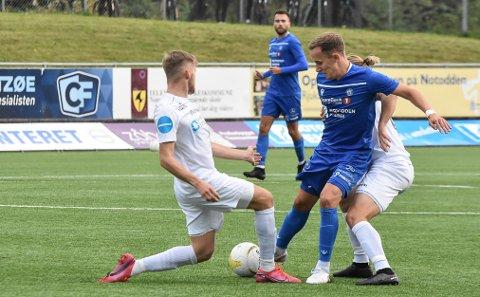 KAMP: Martin Brekke og NFK spiller første treningskamp etter seriestoppen fredag 16. oktober. Mandag samles spillerne igjen etter en liten ferie.