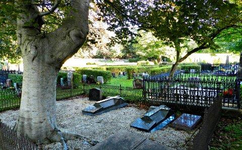 På Gomalandet gravsted ligger blant andre klippfiskkongen Nicolay H. Knudtzon.