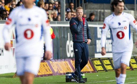 Tapte: Christian Michelsen fikk en del å tenke på etter fredagens kamp mot Ranheim. Trønderne vant til slutt 3-0.