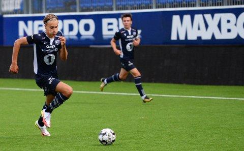 Leander Næss Alvheim er toppscorer i 4. divisjon. Fredag scoret han begge målene da KBK 2 vant 2-1 borte mot Eide.