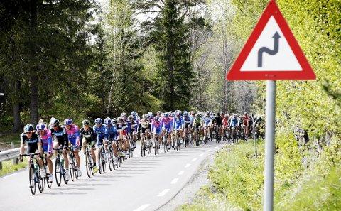 FLOMFARE: Tour of Norway ruller gjennom Buskerud og Vestfold 16. mai. Etappen trues av flom.