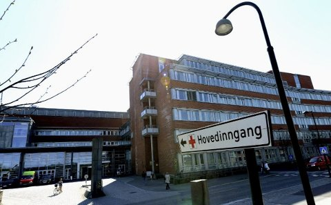 BEHANDLINGSANSVAR: En sykepleier ved Sykehuset i Vestfold har erkjent at hun har hatt et forhold til en pasient ved rusavdelingen.