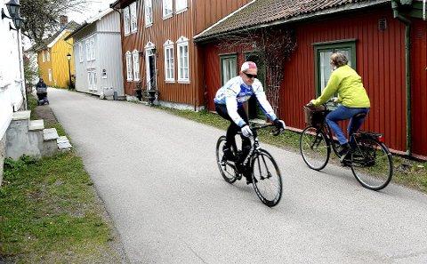 TRYGGERE: Forholdene for syklistene i Tønsberg må bli tryggere, mener Suzy Haugan (V).