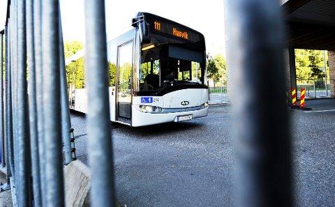 ENDRINGER: Både for rute 111 Husvik og for rute 115 Vallø vil det blir endringer fra 12. november fordi kommunen skal grave Husvikveien.