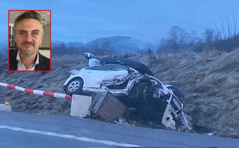 KJØRTE FORBI: Daniel Døderlein passerte ulykken i Bringåkertunnelen. (Illustrasjonsbilde)