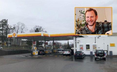 OPPTUR: Trond Kristiansen er retailer for Shell og driver flere bensinstasjoner i distriktet. Han forteller om noen dramatiske uker den siste tiden. Nå ser det ut til å snu.