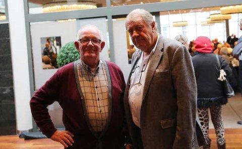 IKKE IMPONERT: Tidligere bookingsjef Jan Erik Carlsen og tidligere styreleder Arvid Jespersen i Tønsberg Jazzklubb, frykter begge at det som nå skjer i jazzklubben, kan komme til å skade den permanent.