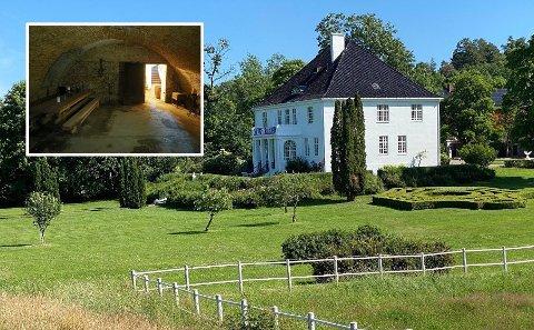 MYSTISK: Historien trekkes tilbake helt til Snorres kongesagaer, og i kjelleren befinner det seg et stort mysterium. Foto: Gunnar Stavrum (Nettavisen)