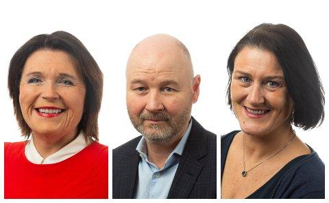 Kirsti Søyland, Øyvind Jonassen og Lise Mandal.