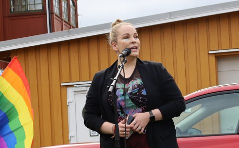 ILDSJEL: Martine Hammervold-Austinat er hjernen bak Son Pride.