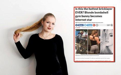 VEKKER OPPSIKT: Lise-Marie Sommerstad har skapt overskrifter i England.